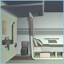Micro Motel Room 3D Models Richabri