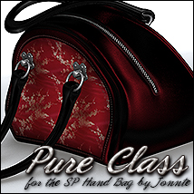 Pure Class for SP Handbag 3D Figure Assets Sveva