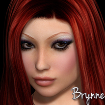 3DS Brynne Characters Themed 3DSublimeProductions