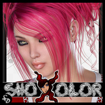 ShoXoloR for Adeline Hair  Hair ShoxDesign