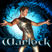 Warlock Poses by the Toyman 3D Figure Assets TheToyman