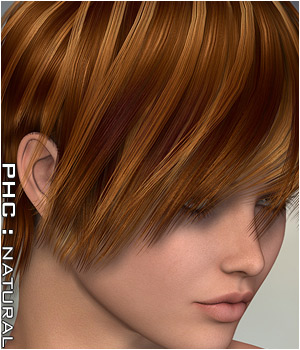 PHCNatural : Zephyrus Themed Accessories Hair P3D-Art