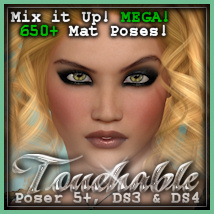 Touchable Titi Themed Hair -Wolfie-