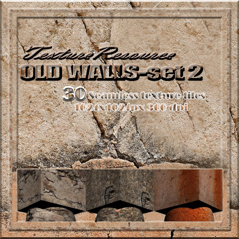 TextureResource-OLD WALLS Set-2