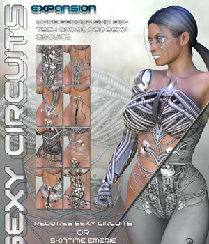 Sexy Circuits Expansion Clothing Themed Characters Darkworld