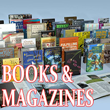 Books and Magazines 3D Models Kutter