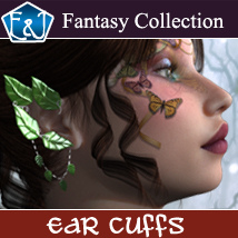 Ear Cuffs For V4 V6 And Genesis 2 Accessories Software Themed EmmaAndJordi