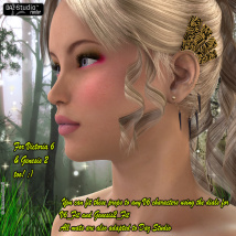 Ear Cuffs For V4 V6 And Genesis 2 image 7