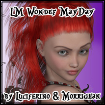 LM WONDER MAYDAY HAIR  luciferino