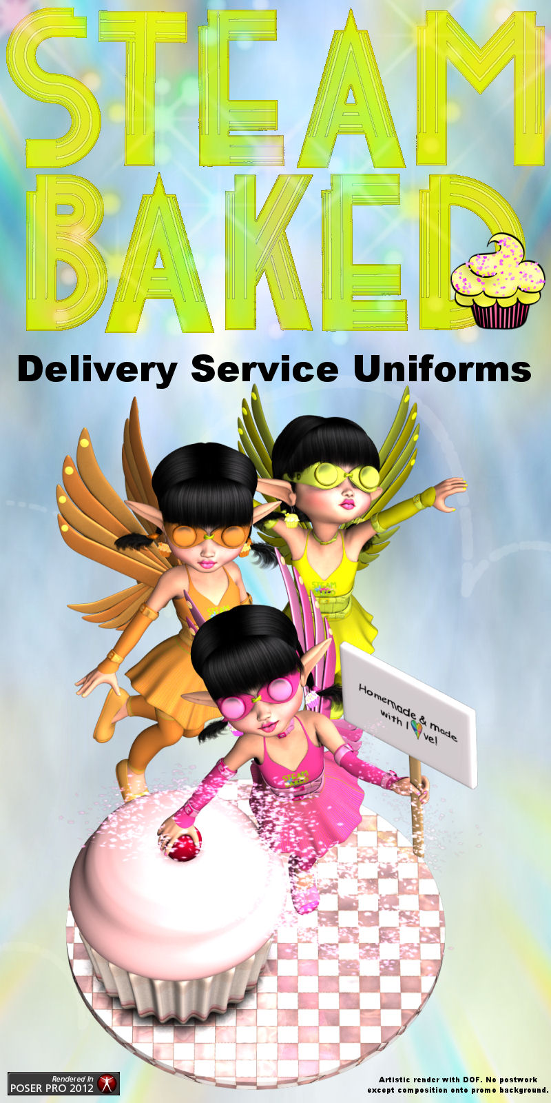 Steam Baked Delivery Service Uniforms