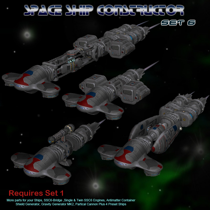 Space Ship Constructor Set6