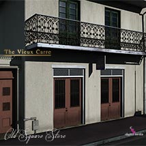Old Square Store 3D Models chris1972