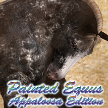 Painted Equus Appaloosa Edition 3D Models solarisonline