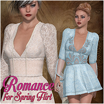 Romance for Spring Flirt Clothing Atenais