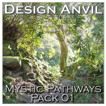 DA Mystic Pathways Stock 2D Graphics Razor42
