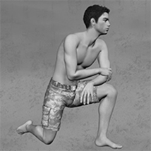 Relaxed Poses for M4 image 1