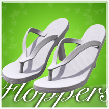 Floppers for V4 3D Figure Essentials jonnte