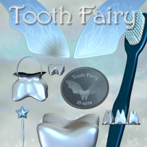 Tooth Fairy 3D Figure Essentials 3D Models JudibugDesigns