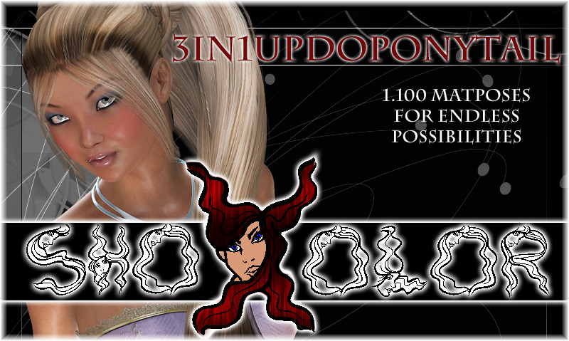ShoXoloR for 3in1UpDoPonytail