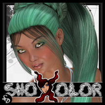 ShoXoloR for 3in1UpDoPonytail Hair ShoxDesign
