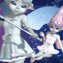 Amity Tooth Fairy OUTFIT Clothing 3DTubeMagic