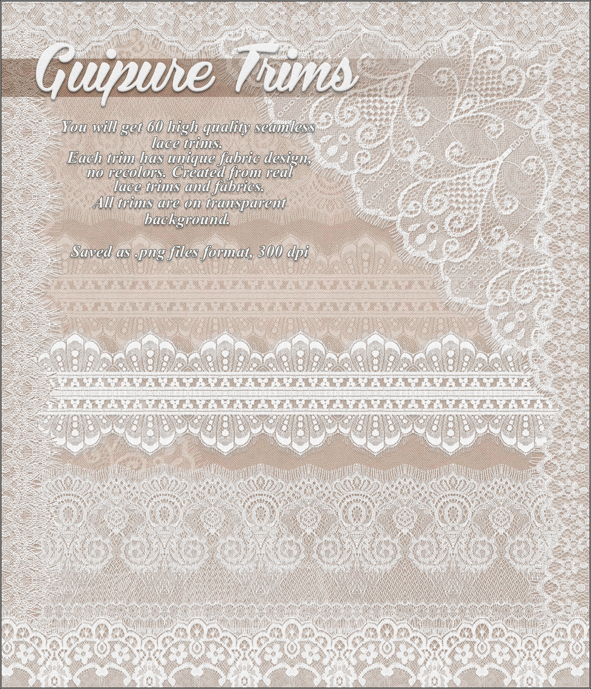 Guipure Trims