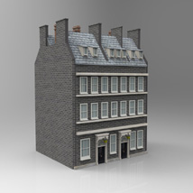 No 10 Downing Street (for Poser and Vue) Props/Scenes/Architecture Themed Digimation_ModelBank