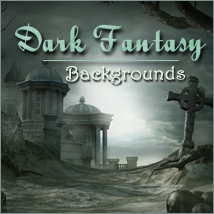 Dark Fantasy Backgrounds 2D 3D Models -Melkor-