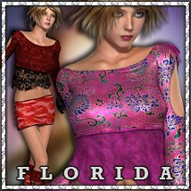 Florida for Notorious Flirt Clothing Themed sandra_bonello