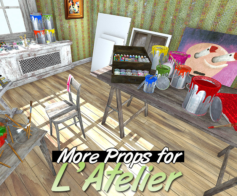 More Props for L'Atelier