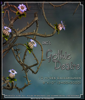ABC's Gothic Desire 2D Graphics 3D Models Bez