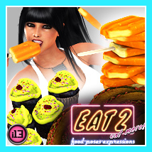 i13 EAT 2 Poses Expressions and FOOD 3D Models 3D Figure Essentials ironman13