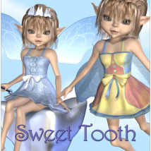 Sweet Tooth 3D Figure Essentials 3D Models JudibugDesigns