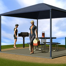 The Picnic Area 3D Models Richabri