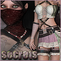 Secrets for Keys to My Heart Clothing Themed Sveva
