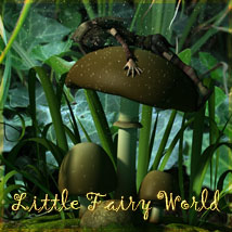 Little Fairy World 2D 3D Models Software vikike176