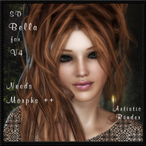 SD Bella for V4 3D Figure Essentials schonee