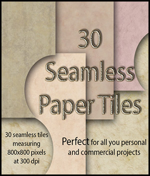 Seamless Paper Tiles 2D And/Or Merchant Resources Themed antje