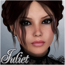 Juliet 3D Figure Essentials 3D Models Silver
