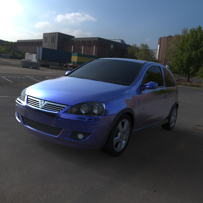 Vauxhall Corsa SRI 2004 (for Wavefront OBJ)