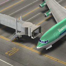 Air Bridge  for Poser and Vue  image 1
