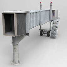 Air Bridge  for Poser and Vue  image 5