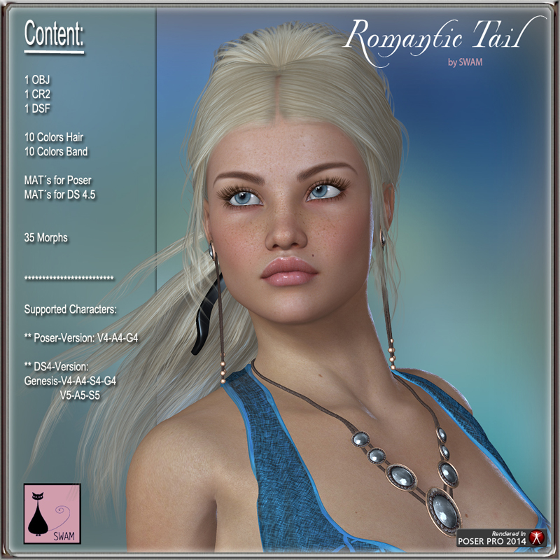 Romantic Tail Hair