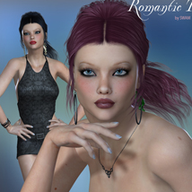 Romantic Tail Hair for V4 and G1 image 4