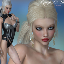 Romantic Tail Hair for V4 and G1 image 6