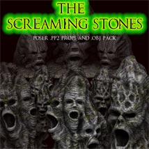Screaming Stones 3D Models Poisen