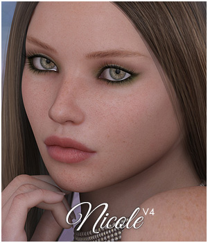 SASE Nicole 3D Models 3D Figure Essentials Sabby
