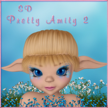 SD Pretty Amity 2 3D Figure Essentials schonee